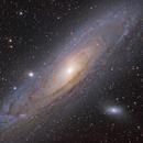 M31 Andromeda Galaxy HaLRGB,                                LiuNing