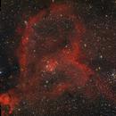 The Heart nebula in Cassiopeia,                                Francesco Meschia