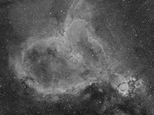 Heart Nebula in H-Alpha,                                Scott Tucker