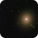 M87 with Jet short exposed ,                                Sascha Schueller