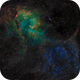 Sh2-132 - Lion Nebula in Cepheus - SHO RGB,                                Daniel.P