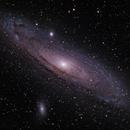 M31 Andromeda Galaxy,                                Marcel & Rahel