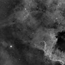 NGC7000 HA - FOVO Final Optic/guiding tests,                                Paddy Gilliland