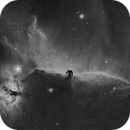 Horsehead & Flame Nebulas in Ha,                                Fabian Rodriguez Frustaglia