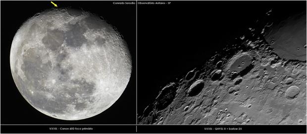 Mare Crisium and Cleomedes crater,                                Conrado Serodio