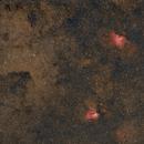 At the corner of scutum M16 M17 Barnard 312,                                Niko Geisriegler