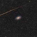 M33, a fireball, and IFN,                                Die Launische Diva