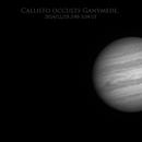 Dance of the satellites: Callisto occults Ganymede,                                Dzmitry Kananovich