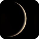 5.8% illuminated crescent Venus on 21.05.2020,                                Henning Schmidt