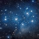 DEEP SKY WEST (DSW) M45 the Pleiades,                                jerryyyyy