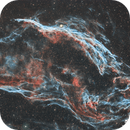 NGC 6960 – Western Veil Nebula in HOO,                                Crazy Owl Photography