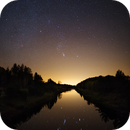 Orion over the canal of Kimola,                                Samuli Ikäheimo