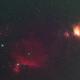 M42, NGC2264, NGC2244, NGC2024, Barnard 33 Wide Field HOS Color Palette,                                Michael