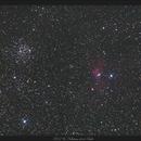 M52 & Nébuleuse de la Bulle - 08 Septembre 2018,                                dsoulasphotographie