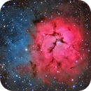 Messier 20 - Central Crop,                                Maicon Germiniani