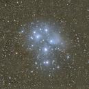 M45 Pleiades,                                Hata Sung