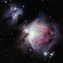 M42 The Orion Nebula,                                Dick Newell