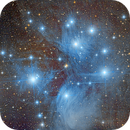 M45 - Pleiades,                                remidone