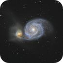 M 51 and LBV 2019 abn,                                Patrice RENAUT