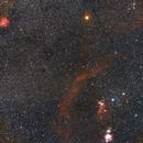 Five classic nebulae,                                bobzeq25