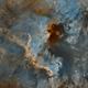 NGC7000 - SHO,                                Yannick Juillet