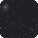 NGC 6946- Fireworks Galaxy & NGC 6939,                                Terrance