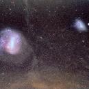 Magellanic Clouds and Interstellar Dust Clouds,                                ricardo leite