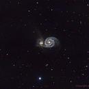 Whirlpool Galaxy M51,                                Harris Kim