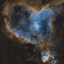 Heart nebula,                                Tom's Pics