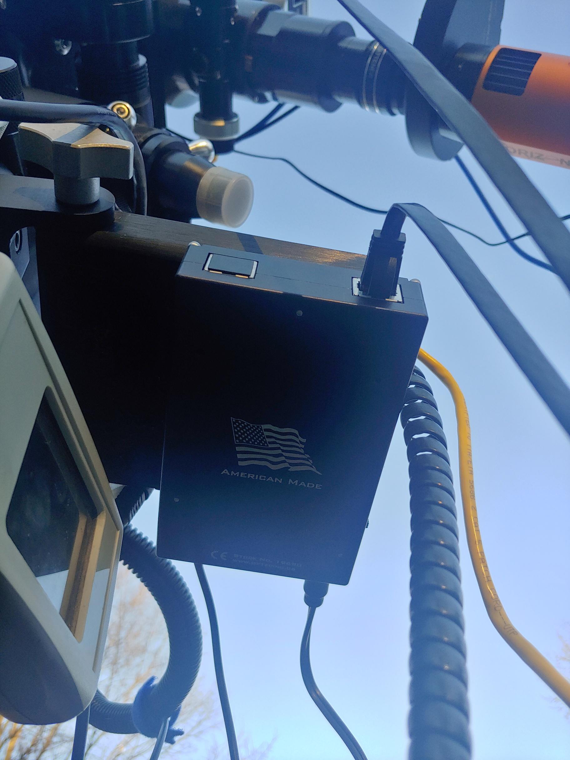 Optec Focuser,                                Caspian Ray