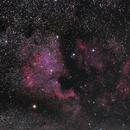 Northamerica & Pelican Nebulae - 2. Try,                                Thorsten - DJ6ET