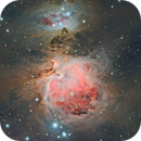 M42 & M43, Merry Christmas to all!,                                Angelillo