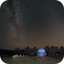 Milky Way and the Zodiacal Lights in the dawn sky,                                Niall MacNeill
