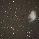 Crab Nebula - M1 from Twickenham,                                John Evans