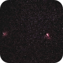 M16/M17 - Eagle and Omega Nebulae,                                PINCELLA Claudio