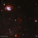 NGC 604 Nebula Located Within M33 in HOO,                                Douglas J Struble