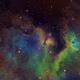 In the Soul Nebula - IC1871  SHO,                                Arnaud Peel