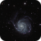 M101 - The Pinwheel Galaxy,                                ruccdu
