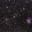 NGC 6946 - The Fireworks Galaxy V1,                                Callum Hayton