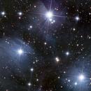 Central portion of M45 - The Pleiades,                                Michael Feigenbaum