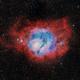 M8 - The Lagoon Nebula,                                nerdybeardo