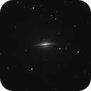 M104, The Sombrero galaxy,                                Steven Bellavia