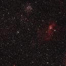 NGC 7635 (The Bubble Nebula) and surroundings,                                gigiastro
