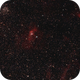 NGC 7635 (The Bubble Nebula) and surroundings,                                gigiastro