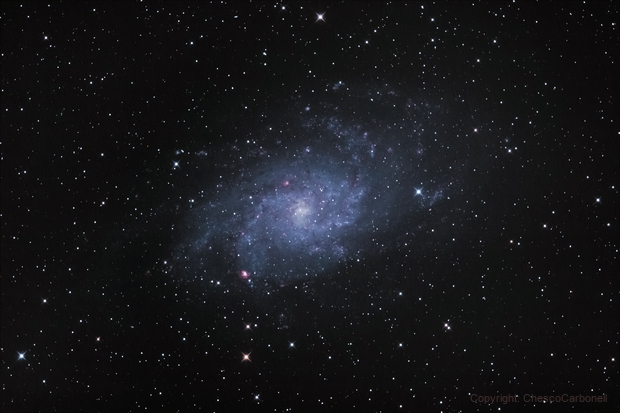 Galaxia del Triángulo (M33),                                Chesco Carbonell