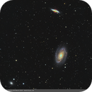 Messier 81, 82 and NGC3077,                                hughsie