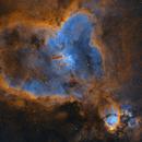 IC1805 Heart Nebula Narrowband - Data shared by Oscar,                                Marco Favro