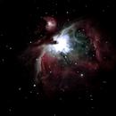 Orion Nebula,                                spames