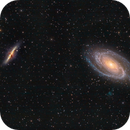Bode's Galaxy (Messier 81) and the Cigar Galaxy (Messier 82),                                Patrick Cosgrove