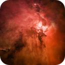 Hubble Data Processing: Vast Stellar Nursery of Lagoon Nebula,                                Min Xie